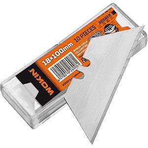 WOKIN 301819 - Klingen Set mit 10 Klingen