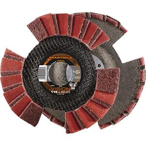 Vlieslamellenschleifscheibe, Edelstahl, 125 mm RHODIUS 209503