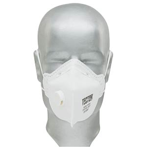 Atemschutzmaske, mit Ventil, Faltmaske, FFP2 TECTOR 4203