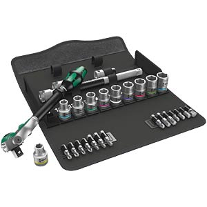 Zyklop speed socket set, 1/2 drive WERA 5004076001
