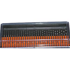 30er-Set Minibohrer, 2,35 mm Schaft RONA 813205