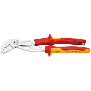 KNIPEX Cobra® VDE Hightech Water Pump Pliers KNIPEX 87 26 250 T