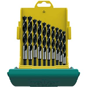 CV wood drill bit set, ten-piece: 333/10 HELLER 24646 0