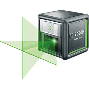 Cross line laser Quigo green, 12 m BOSCH 0603663C00