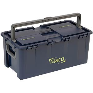 Compact tool case, W/D/H 540 x 300 x 230 mm RAACO 136594