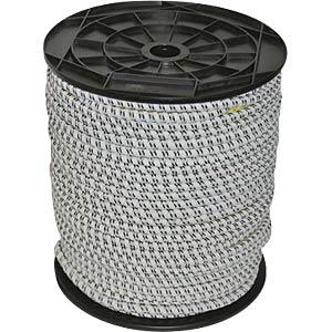 COR 441890 - Gummi-Elektrozug 25 m 7 mm