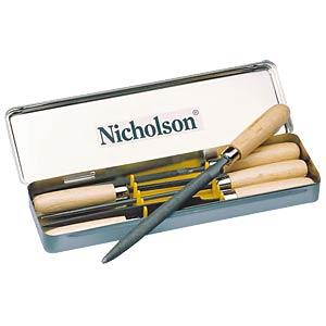 Schlüsselfeilen-Sortiment 100mm, Hieb 2, 6-teilig NICHOLSON 12991420