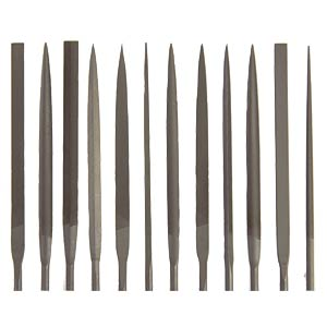 Needle file assortment 140, cut 2, 12-piece NICHOLSON 14470552
