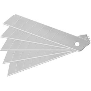 Ersatzklingen, Cuttermesser, 18 mm Abbrechklingen, 10-teilig FIXPOINT 77108