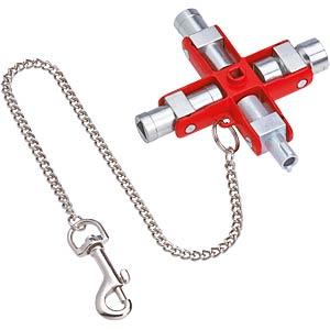 Universalschlüssel, Schaltschrankschlüssel, 90 mm KNIPEX 00 11 06