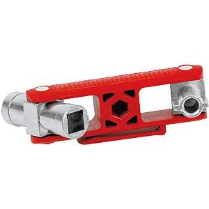 Universalschlüssel, Schaltschrankschlüssel, 97 mm KNIPEX 00 11 06 V02