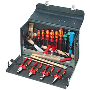 Tool bag 24-piece, electrical installation KNIPEX 00 21 01 TL