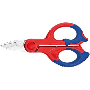 Knipex electrician's scissors, length 155 mm KNIPEX 95 05 155