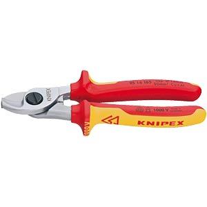 Kabelschere 165mm, Kupfer/Alu Ø= 15/50mm² KNIPEX 95 16 165
