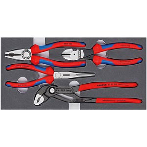 Werkzeugsatz, Zangen, Basic, 4-teilig KNIPEX 00 20 01 V15