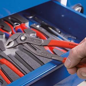 Werkzeugsatz, Zangen, Wasserpumpenzangen, 3-teilig KNIPEX 00 20 01 V03