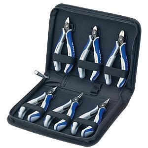 Werkzeugsatz, Zangen, Elektriker, 6-teilig KNIPEX 00 20 16 P