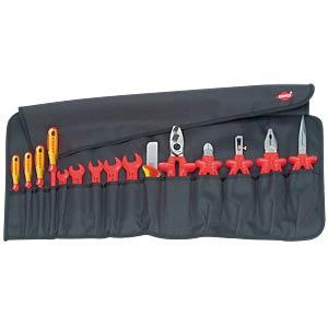 Werkzeugsatz, VDE, Zangen, Schraubwerkzeuge, 15-teilig KNIPEX 98 99 13