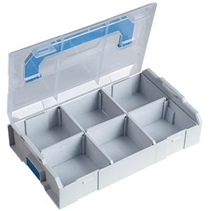 Sortimentskasten, L-BOXX Mini Transparent, 260 x 63 x 155 mm SORTIMO 6000002712