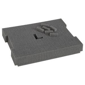 Rasterschaumstoff 102, RS 102, 400 x 50 x 320 mm SORTIMO 121015281