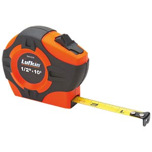 19mm x 5m Hi-Viz® Orange P1000 Maßband LUFKIN PHV1035CM
