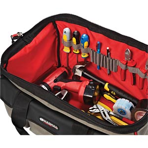 Werkzeugtasche, Maxi, Polyester, 550x300x330 mm C.K MAGMA MA2628A
