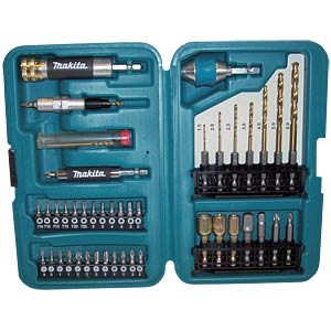 Makita 40-piece drill bit set in a box MAKITA P-71635