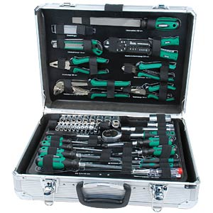 Werkzeugsatz, Werkzeugkoffer, Universal, 108-teilig BRÜDER MANNESMANN 29075