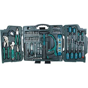 Tool case, 89-piece BRÜDER MANNESMANN 29085
