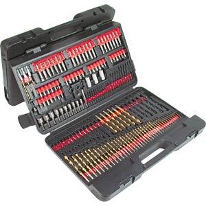 Drill and bit kit, 215-piece BRÜDER MANNESMANN 29806