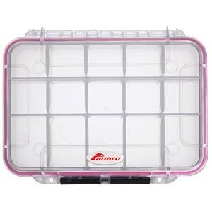 Sortimentskasten, MAX002-T, 230 x 53 x 175 mm, 15 Fächer PLASTICA PANARO MAX002-T