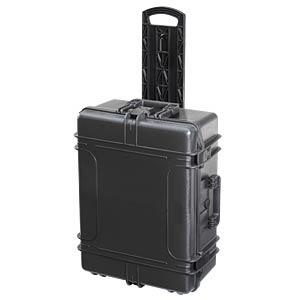Koffer, Trolly, wasserdicht, Polypropylen, 687x276x528 mm PLASTICA PANARO MAX620H250S-TR