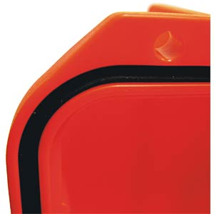 Polypropylene-copolymer case, 555 x 428, orange PLASTICA PANARO 505S-O