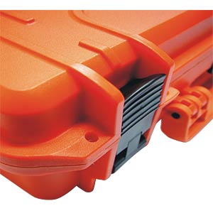 Polypropylene-copolymer case, 464 x 336, orange PLASTICA PANARO 430S-O