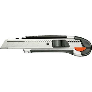 Multi-purpose professional knife with snap-off blades FIXPOINT 77106