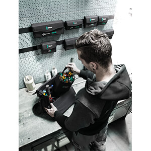 Werkzeug-Köcher, Wera 2 Go 4, Textil, 165x165x105 mm WERA 05004353001