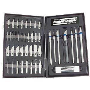 Knife set: 50 pieces BRÜDER MANNESMANN 69051
