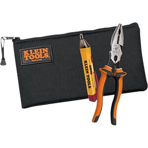 Werkzeugsatz, Zange, Spannungsprüfer, Tasche KLEIN TOOLS 1215