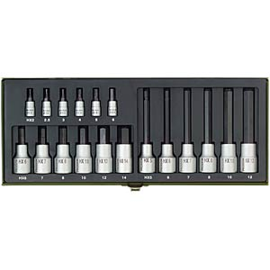 Special kit for hexagon socket screws, 18 pieces PROXXON 23100