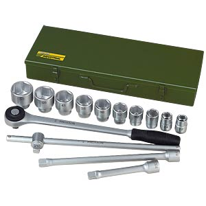 Socket wrench set 3/4 (14-piece) PROXXON 23300