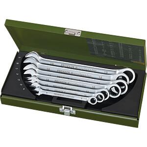 Maul-Ringratschenschlüsselsatz, SW 8-19, 7-teilig, MicroSpeeder