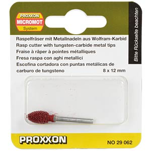 Rasp cutter, metal needles, cone PROXXON 29062
