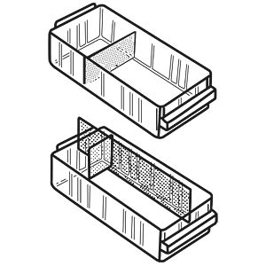 RAACO partitions for drawer 150-00, transverse RAACO 101981