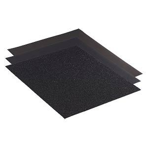 Nassschleifpapier, Edelstahl/Stahl/NE-Metalle, 360 er Körnung RHODIUS 301013