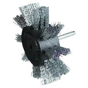 Fächerbürste, Stahl, 100 mm RHODIUS 353035