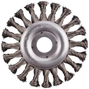 Rundbürste, Stahl, 115 mm RHODIUS 353077