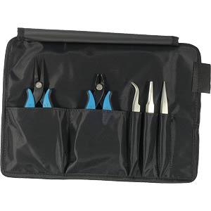 Werkzeugsatz, Zangen, Pinzetten, Elektroniker, 5-teilig RND LAB RND 550-00031