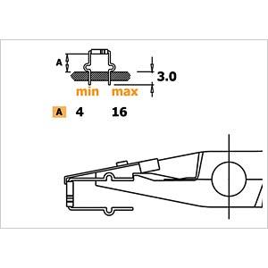ESD Biegezange, 150 mm RND LAB RND 550-00069