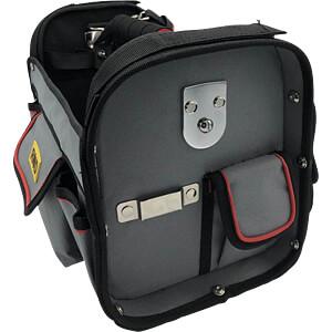 Werkzeugtasche, offen, Polyester, 400 x 260 x 240 mm RND LAB 550-00238