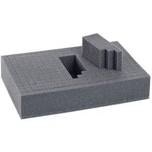 Schaumstoff-Rastereinsatz für Kleinteilemagazine SORTIMO 5200709